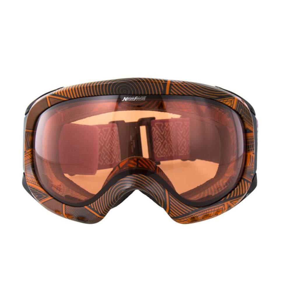 He-yanjing Ski Goggles,UV Protection,Ski Snowboarding Goggles Over Glasses Ski/Snowboard Goggles for Men, Women & Youth (Color : B) by He-yanjing
