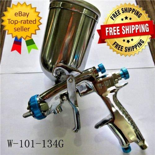 2019 New W-101 134G Perfect Atomization 1.3mm Car Furniture Auto Painting Sprayer for car Spray Gun