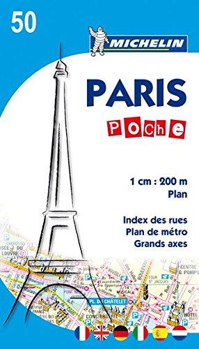 Michelin Paris Pocket Plan: Stadtplan 1:20.000 (MICHELIN Stadtpläne)