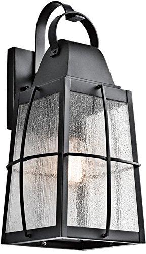 Kichler Lighting 49554BKT Tolerand 1 Light 20 inch Textured Black Outdoor Wall