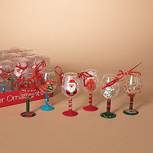 Martini Glass Ornament - Set of 6 ~ 4