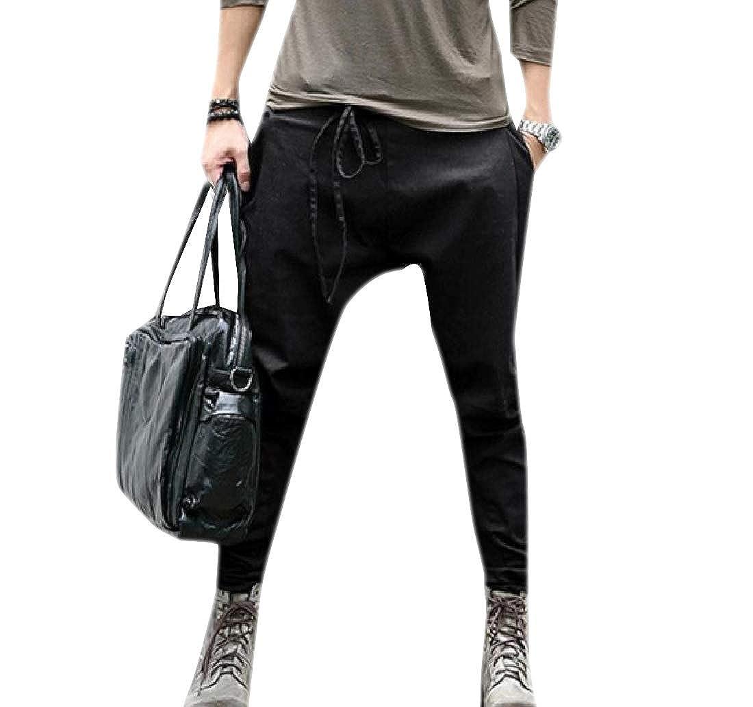Sankt Men Relaxed Fit Harem Long Solid Pocket Casual Pants