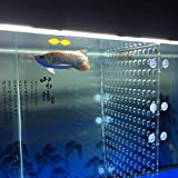 toyuto 17''x 18.8'' 75 Fish Tank Acrylic Divider Aquarium Isolation Board