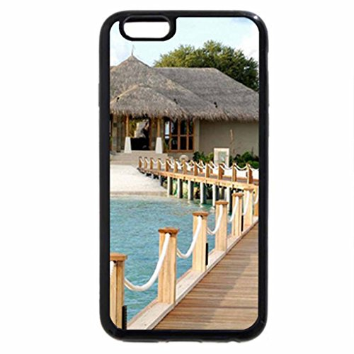 iPhone 6S / iPhone 6 Case (Black) Beach House
