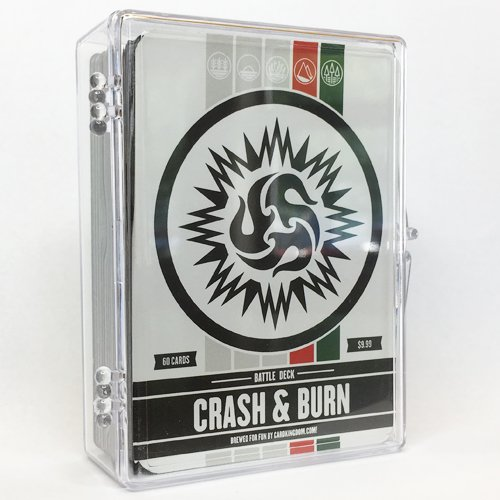 Crash and Burn Battle Deck. Magic The Gathering MTG Preconstructed Red Green Deck. 60 Cards.