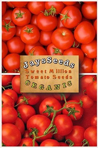 000 Seed Pack - Sungold Cherry Tomato (Organic) 200 Seeds Upc 662187741925 Includes A Free Pack You Pick (Sweet Million Tomato)