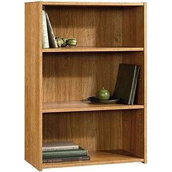 Amazon Com Sauder Beginnings 3 Shelf Bookcase Highland Oak