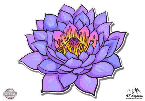 Purple Lotus Beautiful - 3
