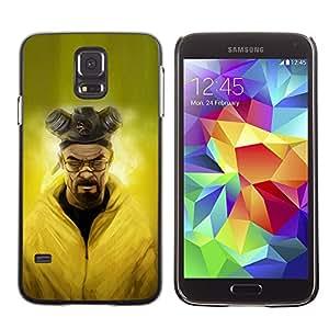 Snap-on Series Teléfono Carcasa Funda Case Caso para Samsung Galaxy S5 , ( H3isenber W White )