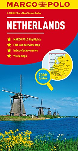 Netherlands Marco Polo Map (Marco Polo Maps)