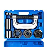 OrionMotorTech Heavy Duty Ball Joint Press & U Joint Removal Tool Kit with 4x4 Adapters, for Most 2WD and 4WD Cars and Light Trucks (BL): more info