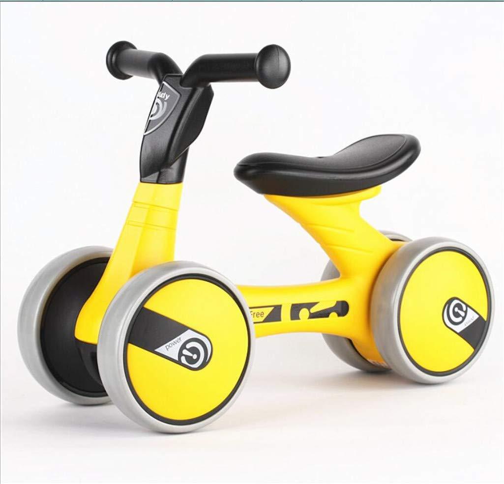 promociones de equipo MYMAO 01Bebé Equilibrio Bici, Bici, Bici, Mini Bici bebé Caminante Juguete niño Bicicleta sin Pedales al Aire Libre conducción Interior Aprendizaje Juguetes 1-3 año Viejo niño y niña,1006amarillo  online barato
