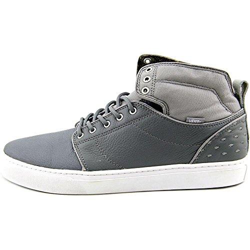 Las zapatillas de deporte para hombre de mármol furgonetas Alomar Diamond grey/white