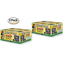 Suet Plus Extra Value Pack Wild Bird Suet - 20 Suet Cakes (2 BOXES OF 10 CAKES)