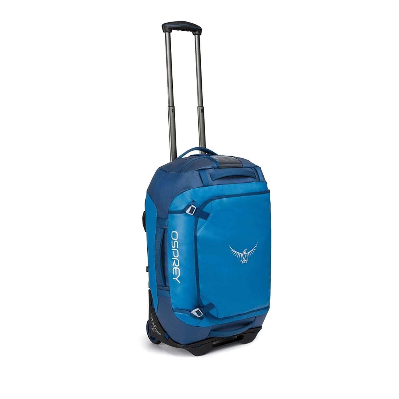 Bleu 2019 Sac de Voyage Osprey Rolling Transporter 40