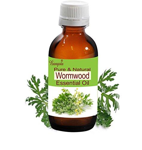Wormwood Oil- Pure & Natural Essential Oil- Artemisia Absinthium (15 ml (0.50 Oz)) ()