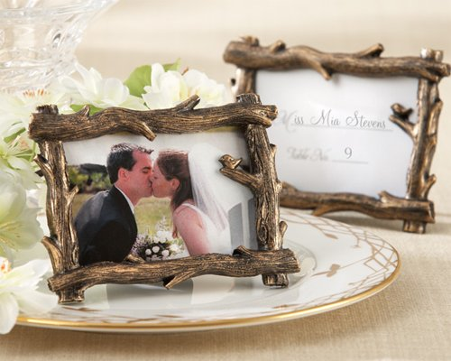 Scenic View Tree-Branch Place Card Photo Holder [SET OF -