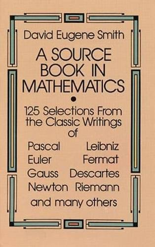 A Source Book in Mathematics (Dover Books on Mathematics)