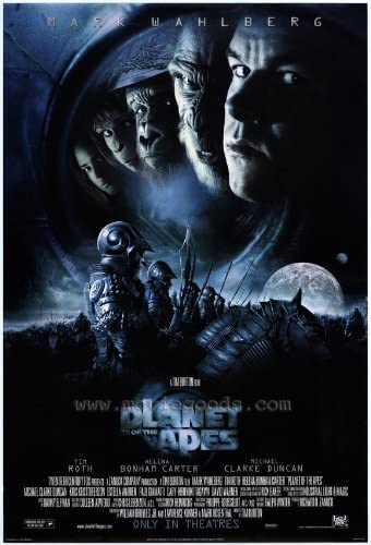 Amazon.com: Planet of the Apes Movie Poster (27 x 40 Inches - 69cm ...