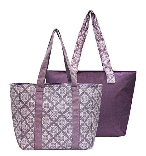 2-pc-santa-barbara-bag-w-insulated-tote-purple-medallion