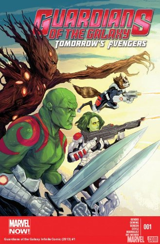 Guardians of the Galaxy Tomorrow's Avengers #1