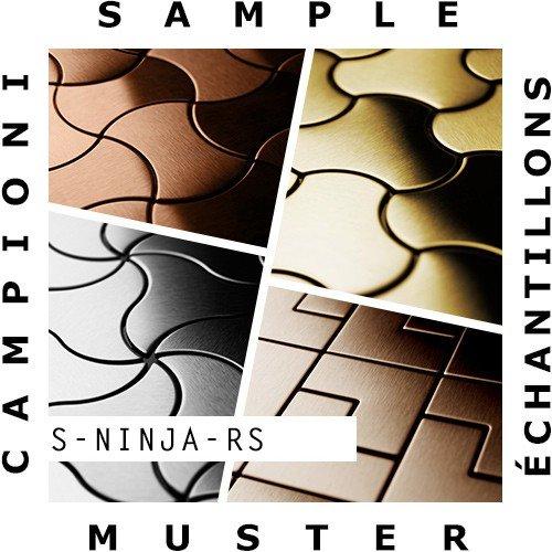 Amazon.com: Sample Mosaic S-Ninja-RS | Collection Ninja Raw ...