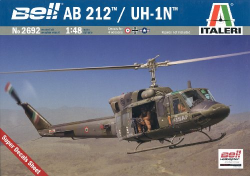 Price comparison product image 1:48 Ab 212 Uh-1n Helicopter Model Kit