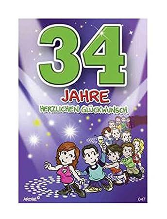 Depesche 5598047 Glückwunschkarte Mit Motiv Von Archie 34