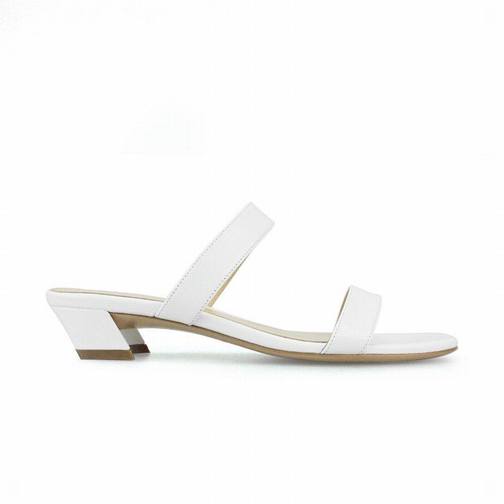 DIDIDD Modewort mit und Kurzen und mit Out Wear Frauenschuhen,Weiß,38 dfd6e1
