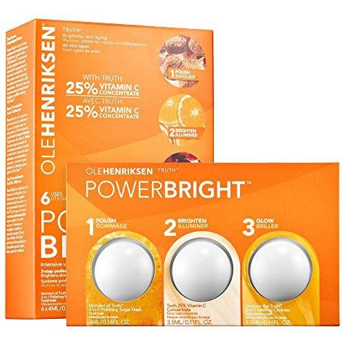 OLEHENRIKSEN Ole Henriksen Power Bright 3-Step Professional Brightening System (6 treatments) by Ole Henriksen