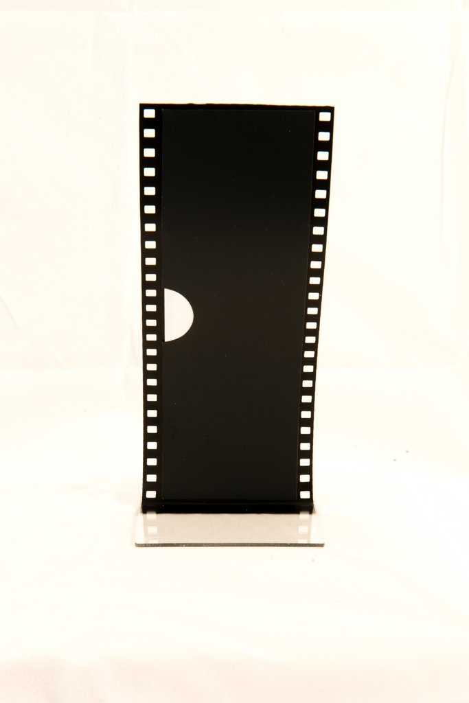 24 Acrylic Wavy Film Photo Booth Frame Curved Hollywood style Photo booth frame Picture Perfect Supply