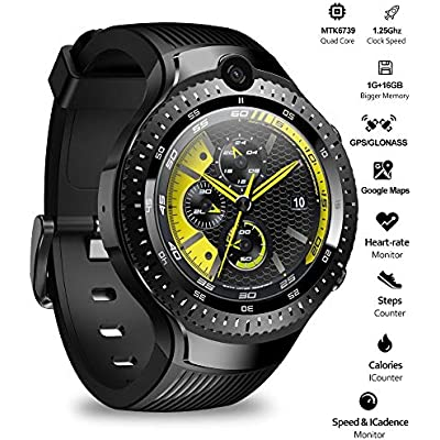 HFJ YIE H Smart Watch Dual Camera Android Watch 1 4-inch AMOLED Displa...