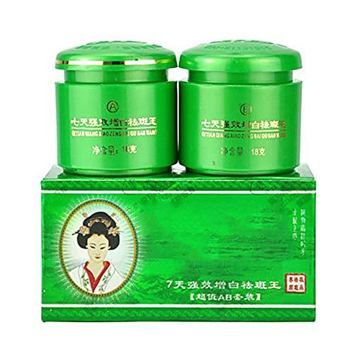 2 Pcs Chinese Face Whitening Cream, Anti Freckle Melasma, Lightening Pigment Brighten Skin Tone Skin Care