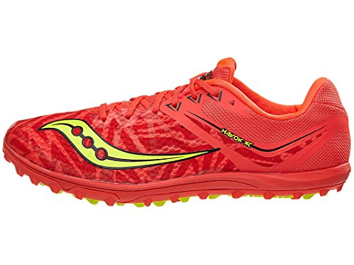 Vizi XC Saucony Womens Citron Red Spike Havok wUTvSpTZq