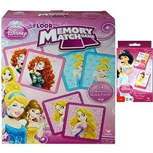 Amazon Com Disney Princess Holiday Game Gift Set For Kids