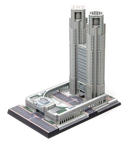- Wave OG021 Tokyo Metropolitan Government Building 1/2000 Scale Plastic Model Kit