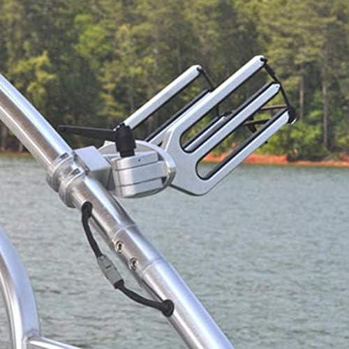 ZT-TTHG 2ピースウェイクボードタワーボートボードラック - ウェイクボードホルダーブラケット - 11.7 X 5.4インチ