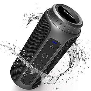 Zamkol Cassa Bluetooth 5.0, 30W HD Stereo Altoparlante Portatile con Bassi Potenti, IPX6 Waterproof Speaker bluetooth, TWS & AUX & Micro SD e Chiamata Vivavoce, per Smartphone, Esterno,Viaggio 1 spesavip