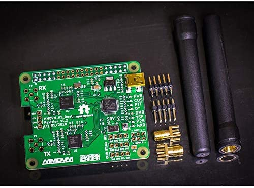 OUYAWEI MMDVM/_HS/_Dual/_Hat Duplex MMDVM Hotspot P25 DMR YSF NXDN Pi Revision 1.3 OLED