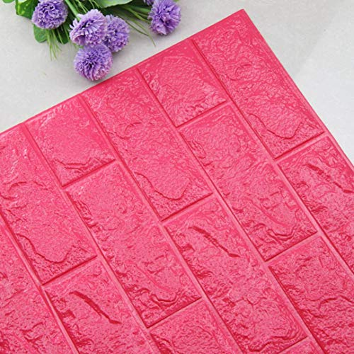 DIY 3D Brick PE Foam Wallpaper Panels Room Decal Stone Decoration Embossed (J)