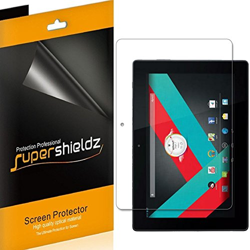 [3-Pack] Supershieldz for SmarTab 2-in-1 Tablet/Notebook 10.1 Screen Protector, Anti-Glare & Anti-Fingerprint (Matte) Shield + Lifetime Replacement