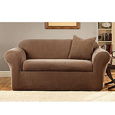 Stretch Metro Love Seat Cover - 2 Piece
