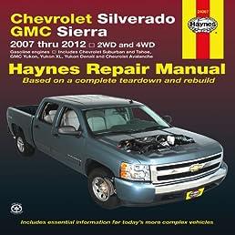chevrolet silverado gmc sierra 2007 thru 2012 2wd and 4wd haynes rh amazon com 2012 gmc sierra manual transmission 2013 gmc sierra manual