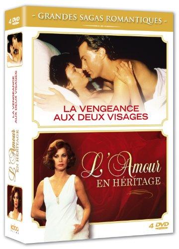 - Coffret Les grandes sagas romantiques (La vengeance aux deux visages - La mini-série + L'amour en héritage)