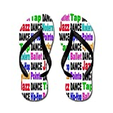 CafePress Dance Styles #2 - Flip Flops, Funny Thong Sandals, Beach Sandals