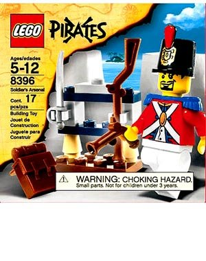 Lego Pirates Set #8396 Soldiers Arsenal]()