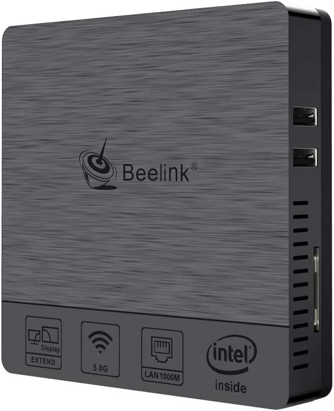 Beelink BT3 Pro II Mini PC 4GB RAM 64GB eMMC Intel Atom x5-Z8350 HDMI VGA Dual Screen Display / 1000Mbps/LAN...