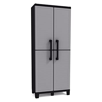Amazon.com: Keter Space Winner Tall Metro Storage Utility Cabinet ...