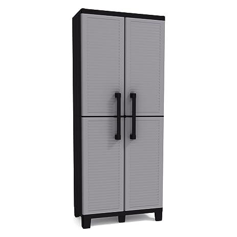 Amazon.com: Keter Space Winner Tall Metro Storage Utility Cabinet ...