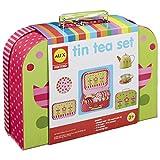 Alex Pretend Tea Time Kids Tea Set, 16 Piece